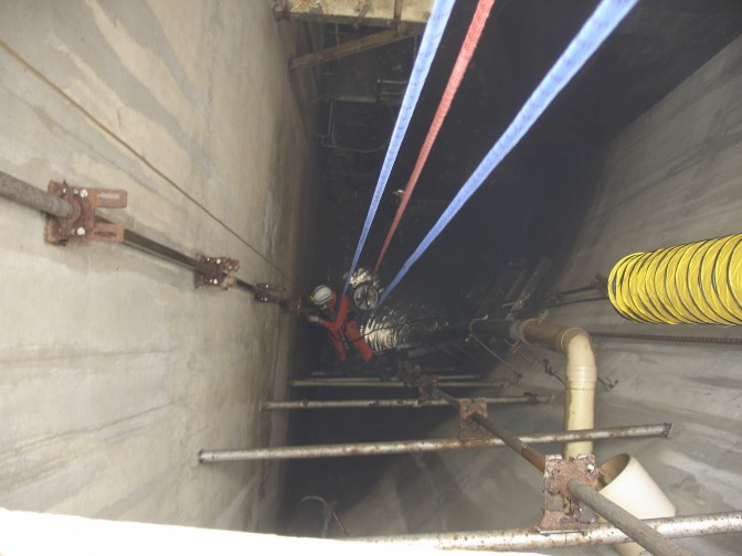 DBC Group confined space wet well maintenance