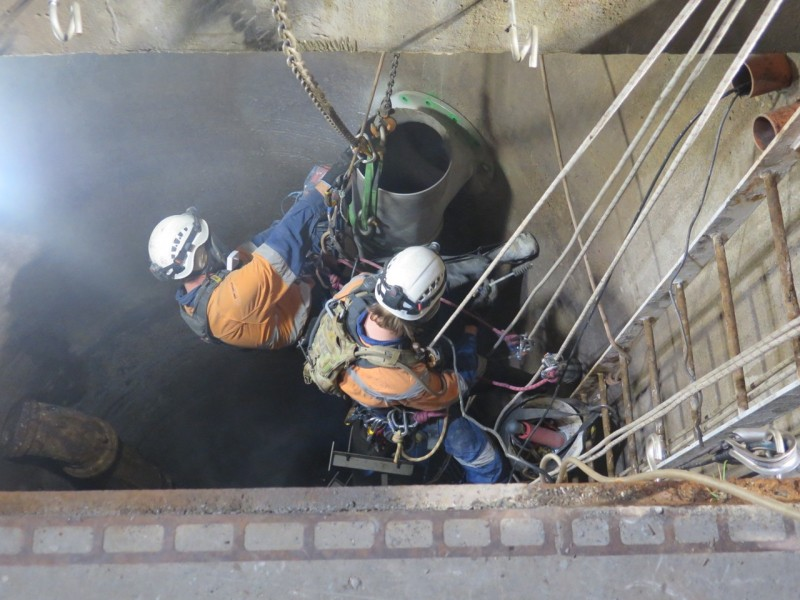 Sydney Water STP penstock replacement and mechanical repairs 2018